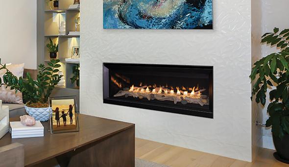 "Superior 55"" Linear Vent Free, Fireplace Lights, Elec Ignition Propane  VRL3055ZEP"