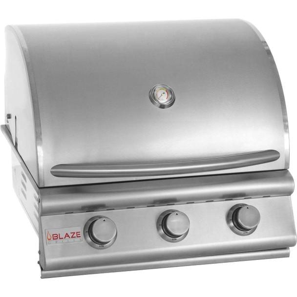 BLZ-3-LP Blaze 25 Inch 3-Burner Built-In Gas Grill