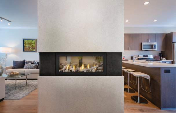 """ACIES 38"""" See Thru,  Direct Vent, Natural Gas, Electronic Ignition (*Conversion Kit Available) L38N2"""