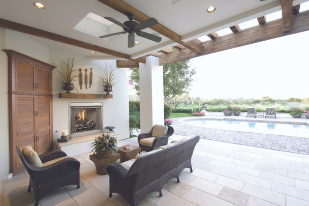 """VRE3236ZE  36"""" OUTDOOR FIREPLACE ELECTRONIC IGNITION"""