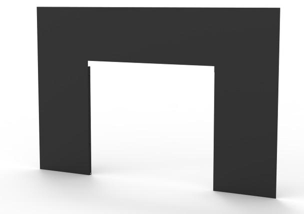 Archway 1700 Wood Burning Insert, Surround, Black (32 x 50) - WS1750BL