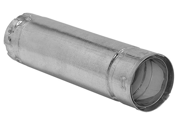 3-in. Diameter Premium Biomass Vent, 12-in, Straight Pipe - 3B12