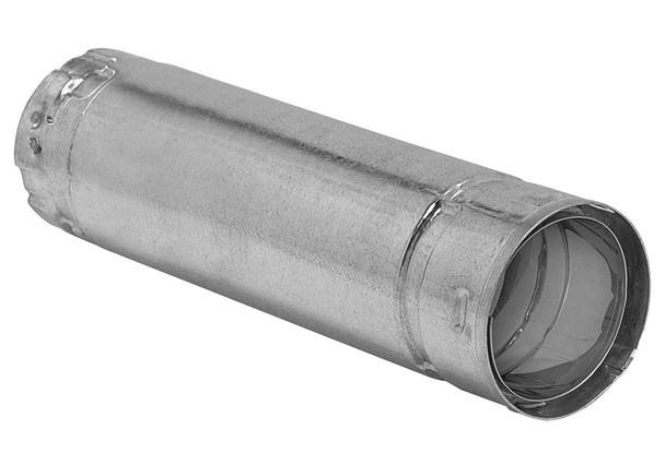 3-in. Diameter Premium Biomass Vent, 12-in, Straight Pipe - 3B12