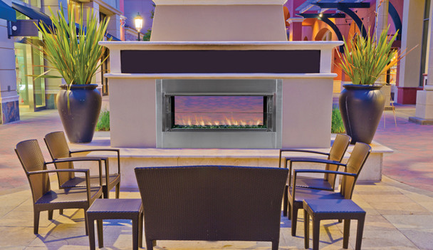 """43""""Linear Outdoor Fireplace Electronic VRE4543"""
