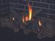 "DRT2045DEN-C  45"" DIRECT VENT FIREPLACE, ELECTRONIC IGNITION, AGED OAK LOGS ,TOP/REAR VENT, NATURAL GAS"