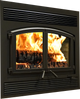 St. Clair 4300 Fireplace with Blower, 4.28 cu.ft., Metallic Black WB43FP