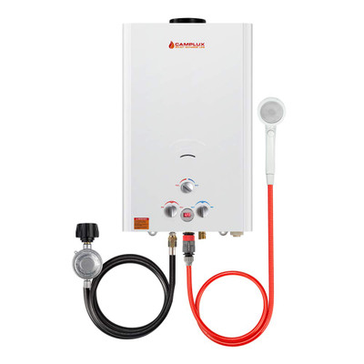 Camplux 16L 4.22 GPM Outdoor Portable Tankless Water Heater