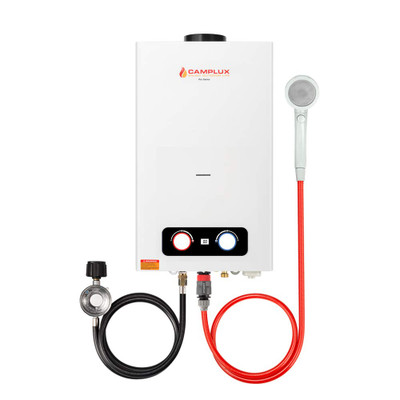 Camplux Pro Series 10L 2.64 GPM Outdoor Portable Tankless Water Heater