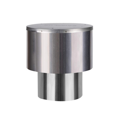 Camplux 3.54''(90mm) Rain Cap, Stainless Steel Rain Cap for Tankless Water Heater, Rain-Proof & Windproof Cap for Gas Water Heater, Perfect for Outdoor Installation
