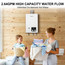 Camplux 10L 2.64 GPM  High Capacity Indoor Propane Tankless Water Heater