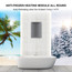 Tankless Water Heater Natural Gas, Camplux 6.86 GPM Tankless Hot Water Heater, Outdoor Instant Water Heater For Whole Home, Gray