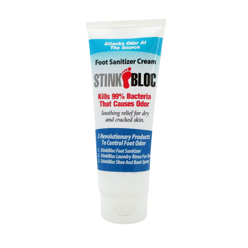 StinkBloc Foot Sanitizer Lotion