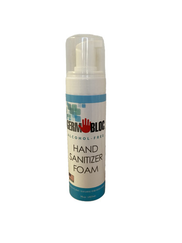 GermBloc Alcohol Free Hand Sanitizer Foam 7 oz.