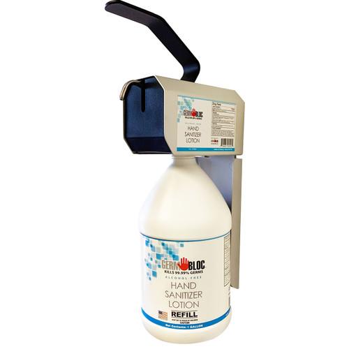Heavy Duty Wall Dispenser for 1-Gallon Sanitizing Lotion - GB-225