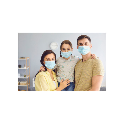 NLT95 - 20 Pack Blue Face Mask