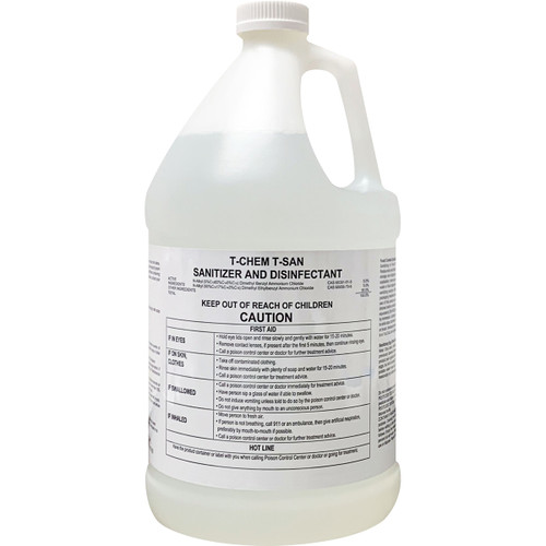 T-CHEM T-SAN Surface Sanitizer And Disinfectant 1 Gallon