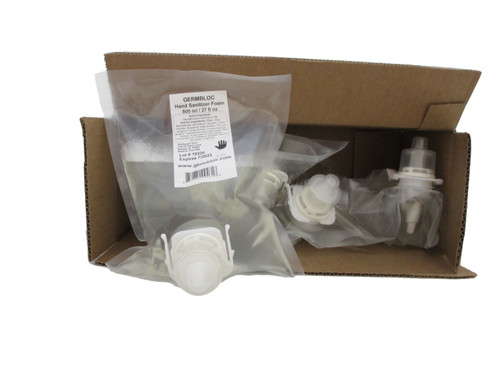 GermBloc Hand Sanitizer Foam 6 Pack of Refill Bags
