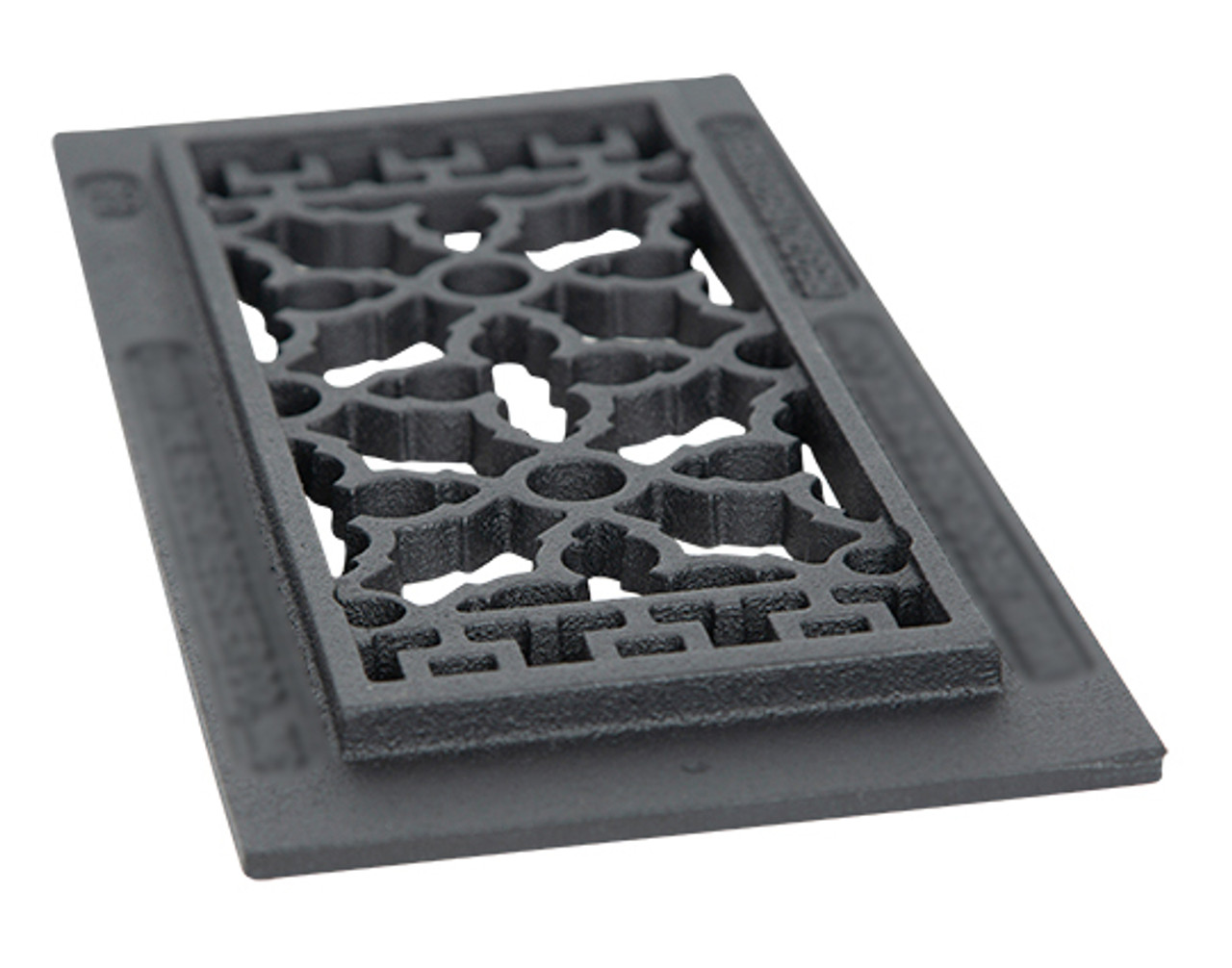 scroll cast iron vent cover grille