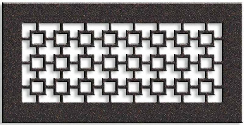 Custom Santa Fe Return Vent Cover (Black) - 19