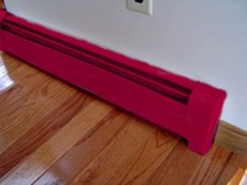 Can You Paint Rusty Baseboard Heaters Vent And Cover