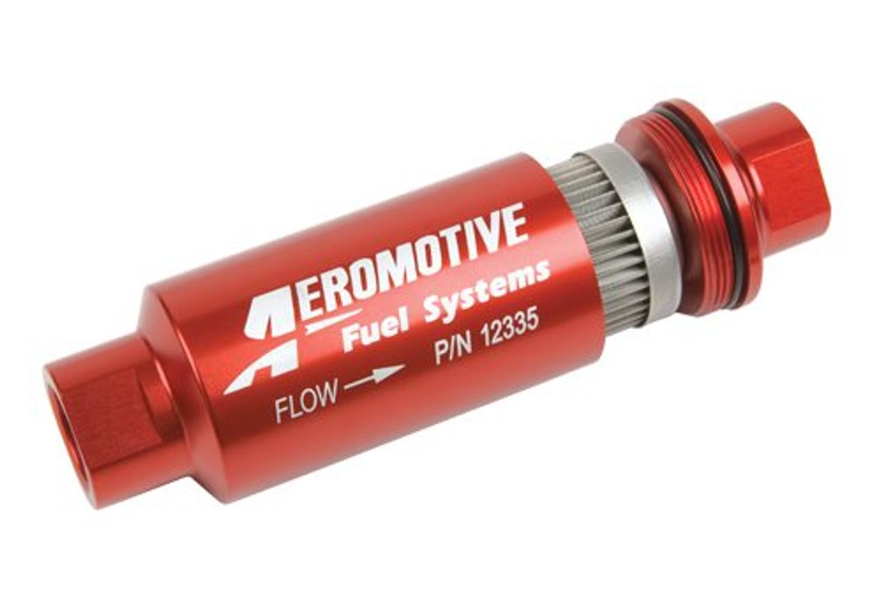 Aeromotive Inline Fuel Filter 40 Micron AN-10 - Anderson Ford Motorsport | Aeromotive Fuel Filter |  | Anderson Ford Motorsport