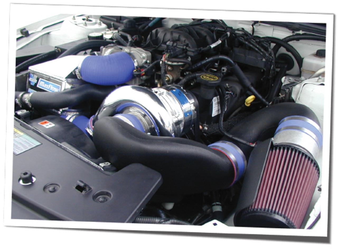 08 mustang v6 turbo kit