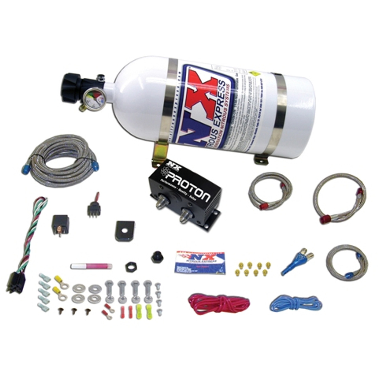 Less Bottle Nitrous Express 20421-00 Proton Plus Nitrous System
