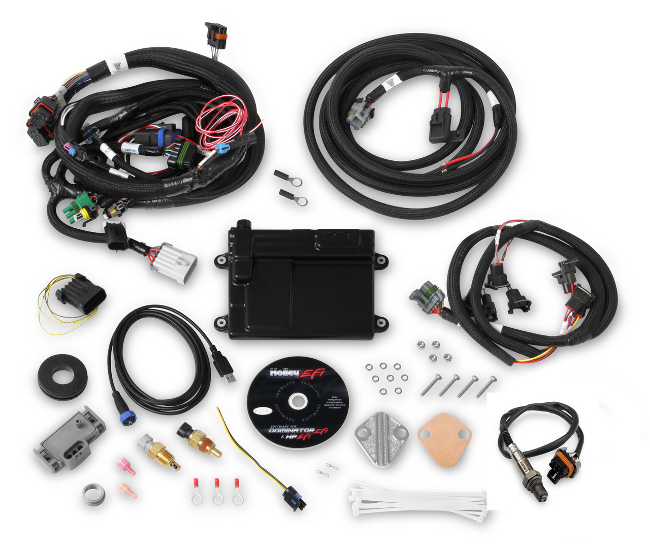 holley hp efi engine management kit fits 86 93 302 351w anderson