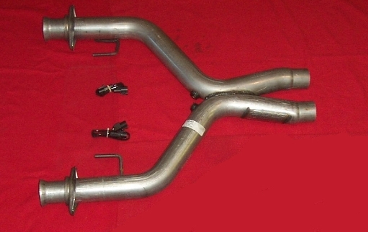 BBK 1770 2-3//4 High Flow Performance Full X-Pipe with High Flow Catalytic Converters for Ford Mustang GT 3V