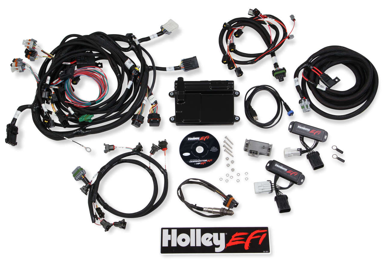 Holley EFI 550-617 Complete Plug and Play 1999 - 2004 4.6 / 5.4 4V on alpine stereo harness, safety harness, fall protection harness, oxygen sensor extension harness, cable harness, dog harness, obd0 to obd1 conversion harness, pony harness, amp bypass harness, pet harness, radio harness, engine harness, maxi-seal harness, suspension harness, electrical harness, battery harness, nakamichi harness,