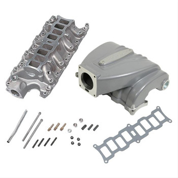 Trick Flow R-Series EFI Intake Manifold for Ford 5.0L Silver