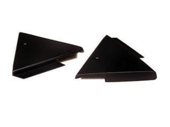 1987-1993 Ford Mustang Power Mirror Mount Covers Pair