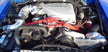 1FA100-09I ProCharger High Output P1SC Kit with FREE Power Pipe®. Fits 86-93 Mustang 5.0L