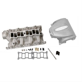 Trick Flow R-Series EFI Intake Manifold for Ford 351 Windsor Silver