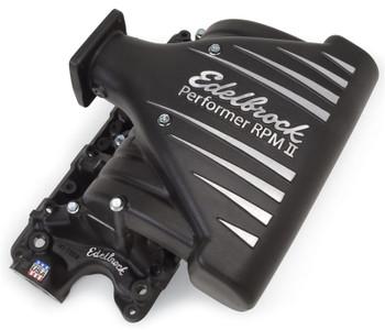 71233 Edelbrock Performer RPM II Intake Manifold Black. Fits 86-95 5.0L Mustang