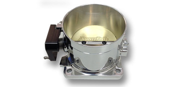 Accufab Race Throttle Body 90mm Polished. Fits 86-93 5.0L Mustang