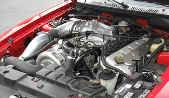 1FF211-SCI ProCharger HO Supercharger Kit Intercooled with FREE Power Pipe®. 99-01 Cobra