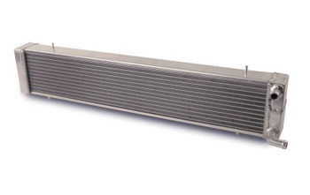 "AFCO Aluminum Double Pass Heat Exchanger 03-04 Cobra ""Satin"""
