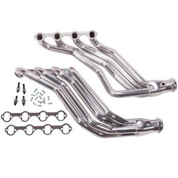 15690 BBK 351W Longtube Swap Headers Ceramic 86-93