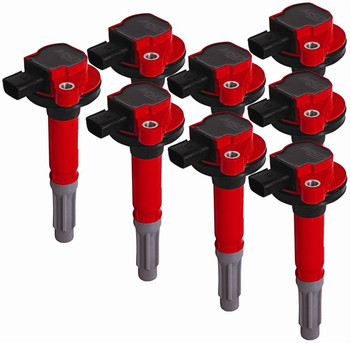 82488 MSD Ford Blaster Coil-on-Plug Ignition Coil Packs, 5.0 Coyote