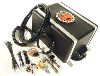 AIS Pro Meth Stage 1, Dual Nozzle, Trunk Mount Water / Methanol Injection System