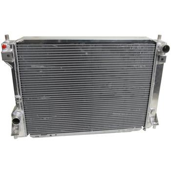 AFCO Direct Fit High Performance Aluminum Radiator, Satin Finish, 10-14