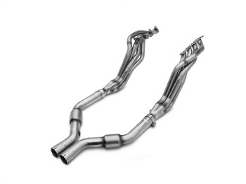 mbrp long tube headers with performance cats mid pipe for 2015 - 2017 ford mustang gt