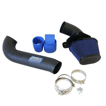 15575 BBK Performance Cold Air Intake, Fenderwell Style, For 1986 - 1993 Mustang V8, Blackout Series