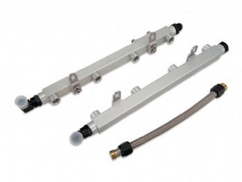 Metco MFR2011A Billet Fuel Rail Kit For 2011 - 2014 Mustang GT 5.0