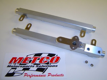 Metco MFRS1000 Billet Fuel Rail Kit For 2007 - 2014 Shelby GT500