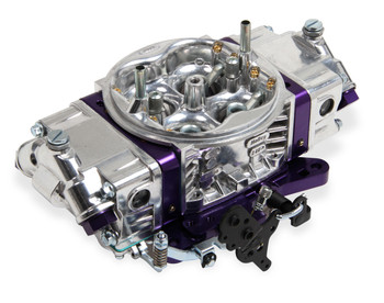 0-67199PL Holley 650 CFM Track Warrior Carburetor, Purple