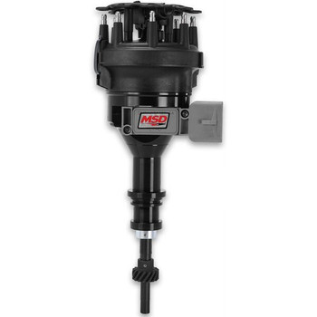 84563 MSD Black Pro-Billet Distributor for 1986 - 1993 5.0L Mustang