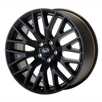 M-1007-M1995B Rear Wheels 19x9.5 15-17 Mustang GT Performance Pack Matte Black CLEARANCE