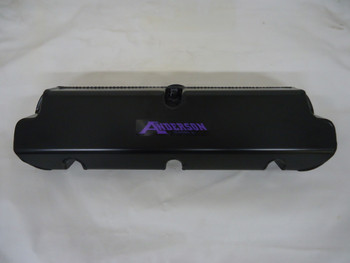 AF-6582-D Anderson Fabricated Aluminum Valve Covers For Supercharged Mustangs, Black